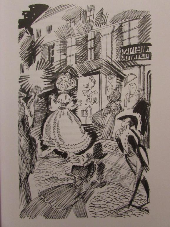 Картинки к петербургским повестям гоголя