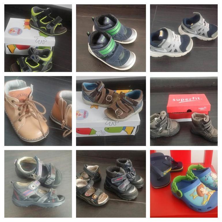 72089899 Ортопедическая фирменная обувь на мальчика Хороши бренды и хорошее  состояние так как обуви было много 1.Ботинки ecco размер 22 но маломерят  Очень удобные в ...