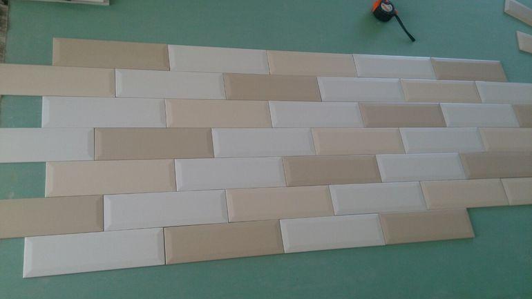 плитки для раскладки фартука схемы