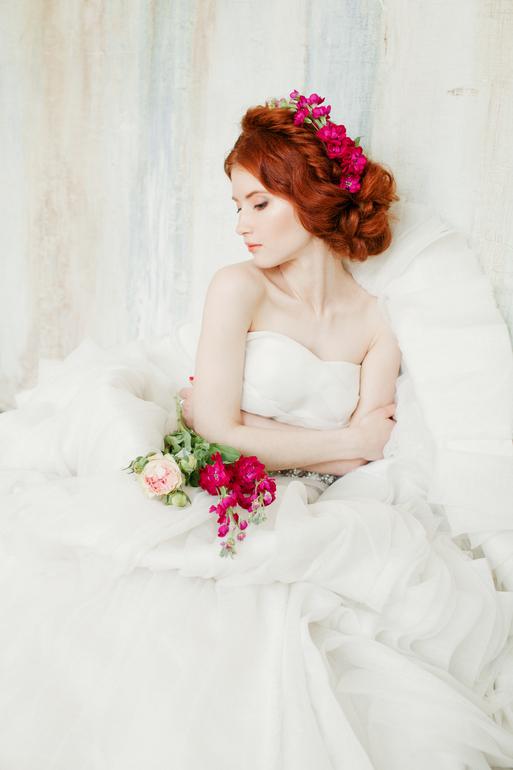 Фото красивых рыжих невест, голые актрисы с большой грудью