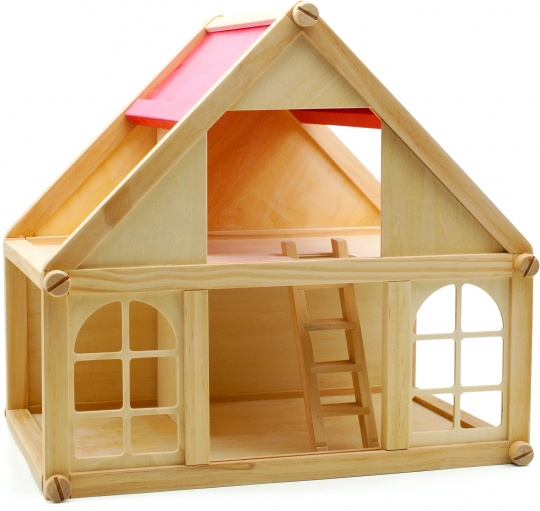 Деревянные кукольные домики цена