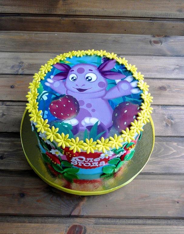 Торт картинки лунтик
