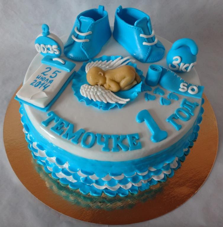 детские тортики для мальчиков на годик магазинов