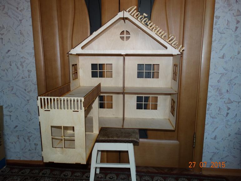 Кукольный дом своими руками из фанеры чертежи фото 929