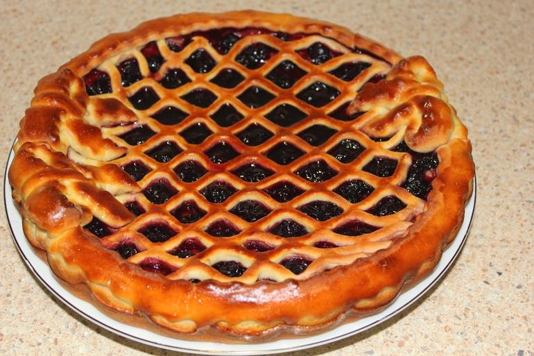 Рецепт вишневого пирога фото духовке