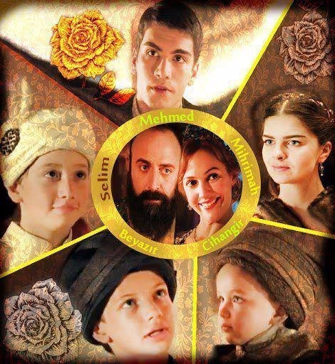 сколько было детей у султана сулеймана уход