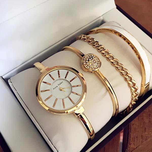 Часы anne klein с браслетами женские купить в екатеринбурге