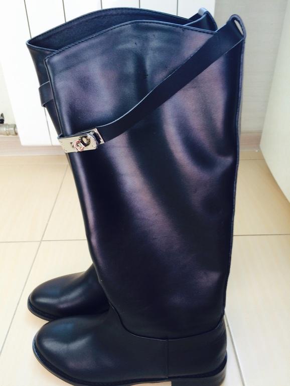 ПРОДАМ кожаные сапоги Hermes новые - запись пользователя Анетка ... 0661ad75dea