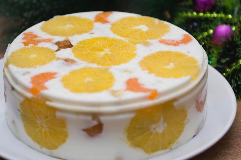 Торты рецепты фруктовые желейные
