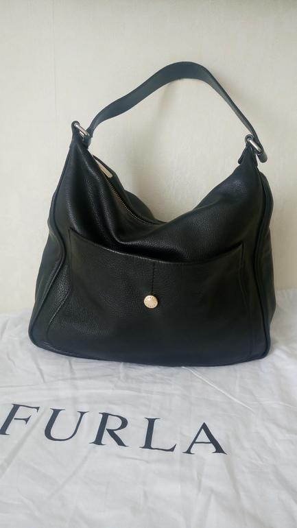 Классическая сумка Furla 864942 black Италия