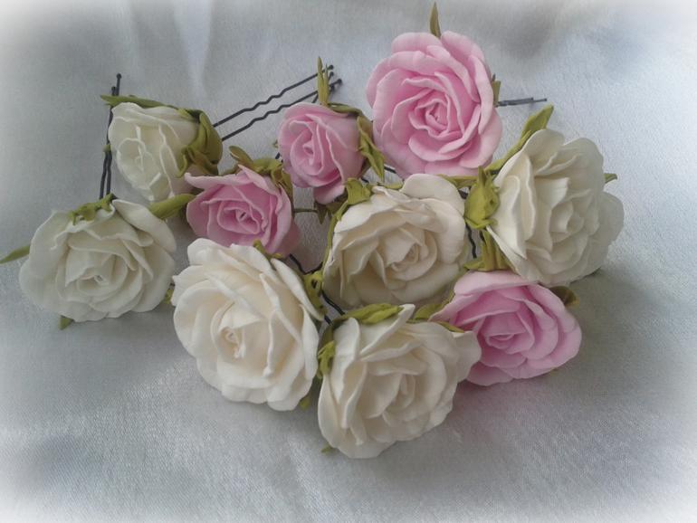 Украшения из фоамирана, цветы из фома, мастер-классы из