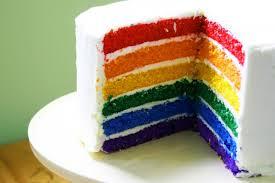 торт радужный рецепт с фото