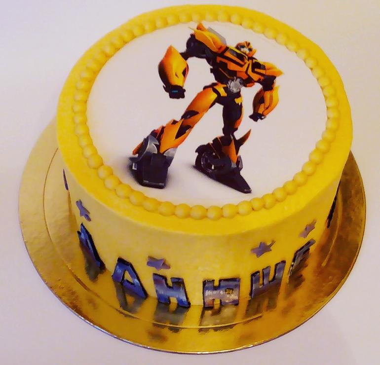 трансформеры фото торты