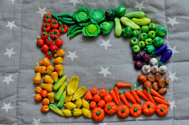 Игрушка своими руками овощи