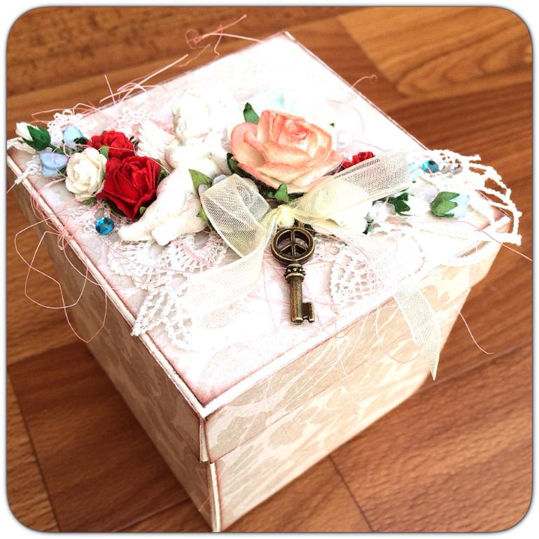 Сундучки и коробки для денег, конвертов и подарков 37