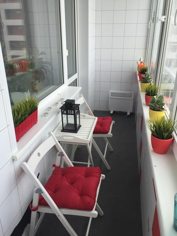 Интерьерное решение лоджий, балконов - дизайн интерьера - со.