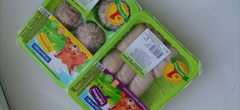 Кураболлы и колбаски для детского меню